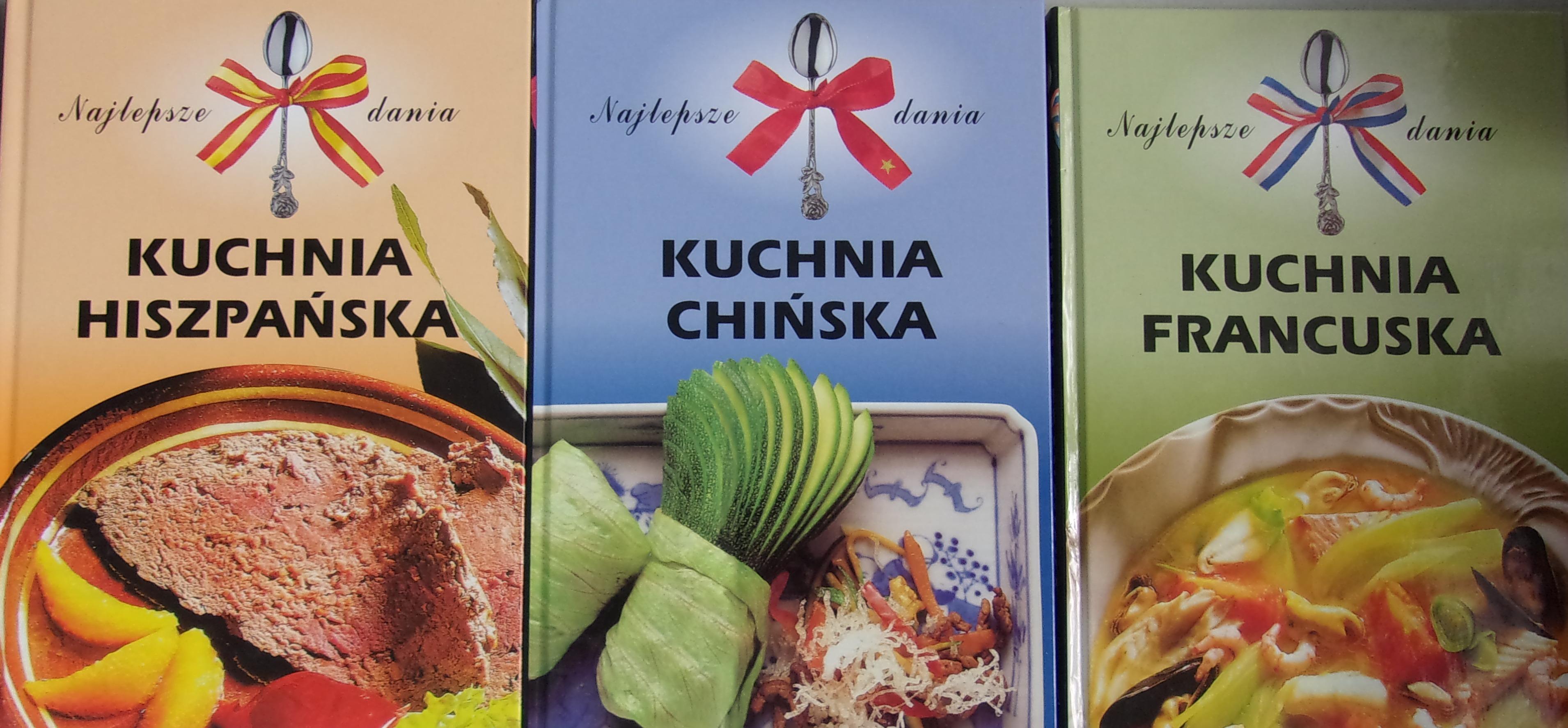 Kuchnia Francuska Kuchnia Chinska Kuchnia Hiszpanska 15 00 Zl