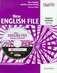New English File Beginner Workbook with key