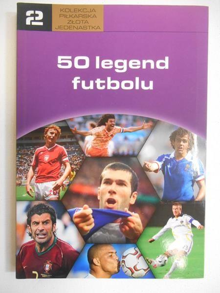 Będkowski Leszek (red.) - 50 legend futbolu