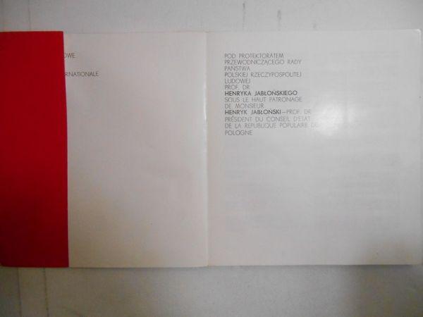 VI Międzynarodowe Biennale Grafiki Kraków 1976