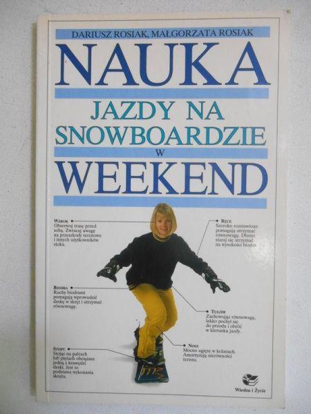 Rosiak Dariusz - Nauka jazdy na snowboardzie