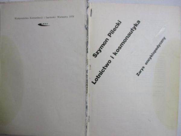 Pilecki Szymon - Lotnictwo i kosmonautyka. Zarys encyklopedyczny