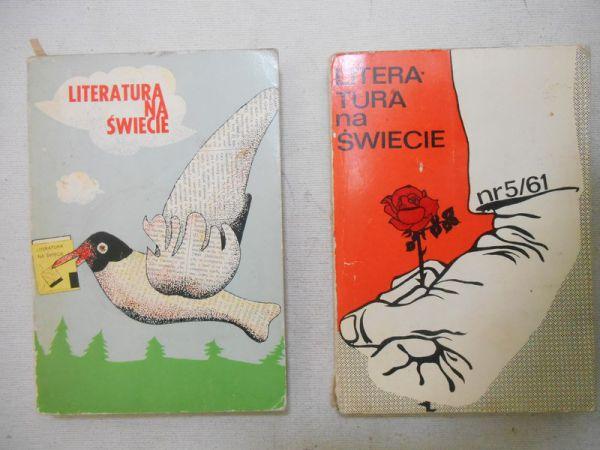 Bielska-Zientarska Maria (red.) - Literatura na świecie, nr: 5/51, 2/58