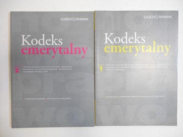 Kodeks Emerytalny, Część 1 i 2
