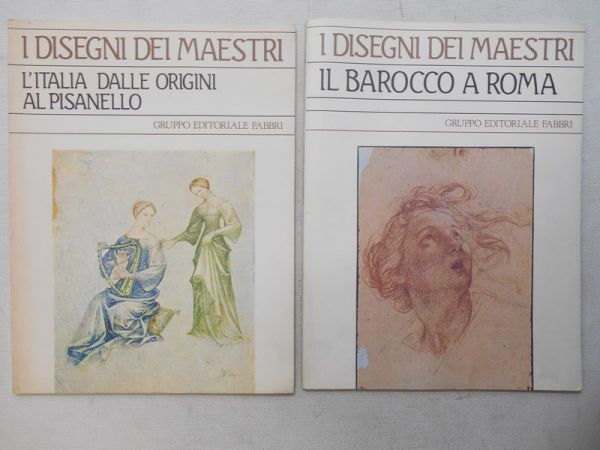 Vitzthum Walter - Disegni dei maestri. Il barocco a Roma /  L'italia dalle origini al pisanello