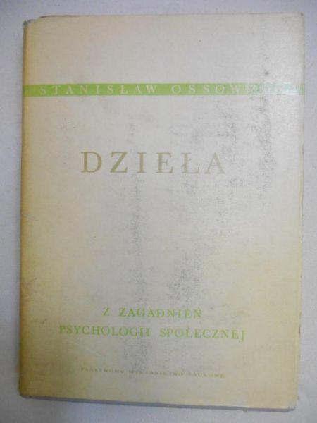 Ossowski Stanisław - Dzieła, Tom III - Z zagadnień psychologii społecznej
