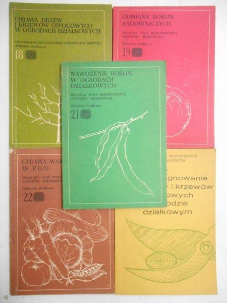 Biblioteka działkowca, 5 książek
