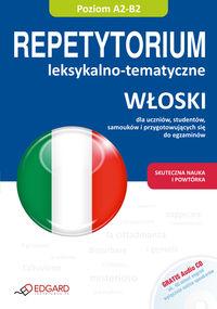 Włoski Repetytorium tematyczno-lekskalne z płytą CD