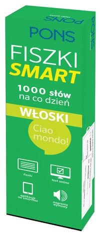 Fiszki SMART - 1000 słów na co dzień. Włoski.