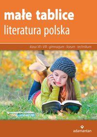 Małe tablice Literatura polska 2017