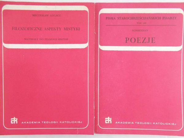 Gogacz Mieczysław/Komodian - Filozoficzne aspekty mistyki/ Poezje
