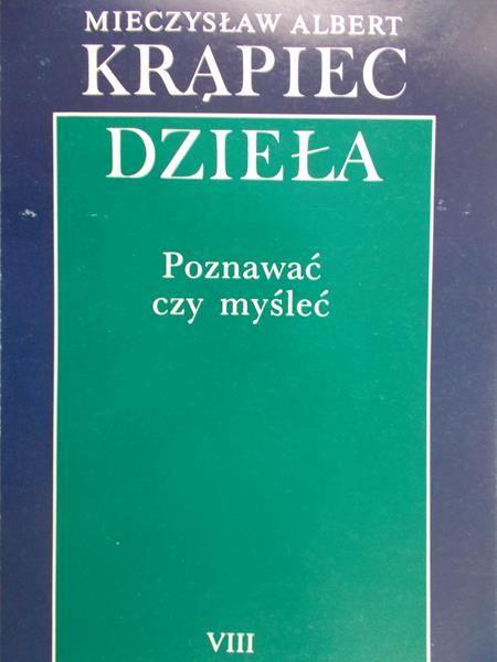Krąpiec A.M. - Dzieła, Tom VIII. Teoria analogii bytu