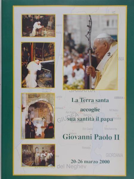 La Terra santa accoglie sua santita il papa