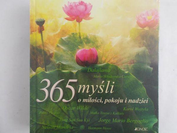 365 myśli o miłości pokoju i nadziei, Nowa