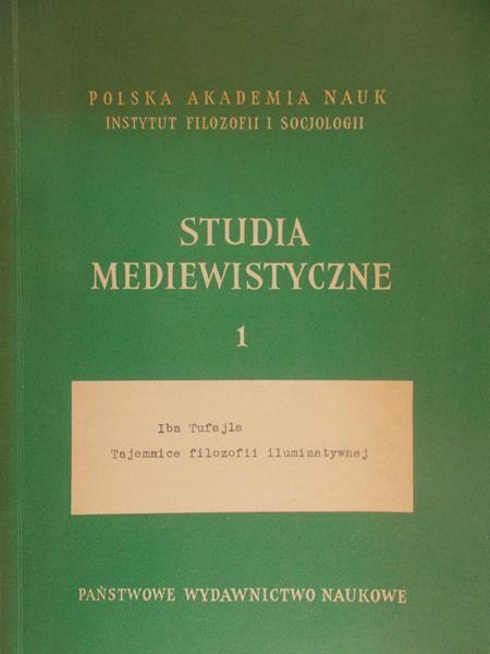 Legowicz Jan ( red.) - Studia mediewistyczne