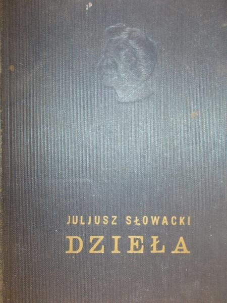 Słowacki Juliusz -  Dzieła, t. V-VIII, 1930