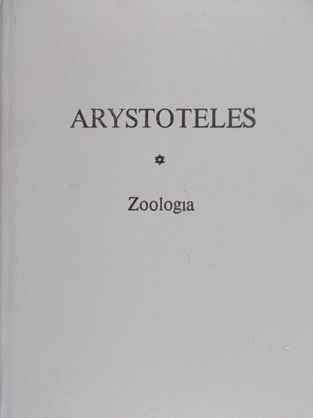 Arystoteles - Zoologia