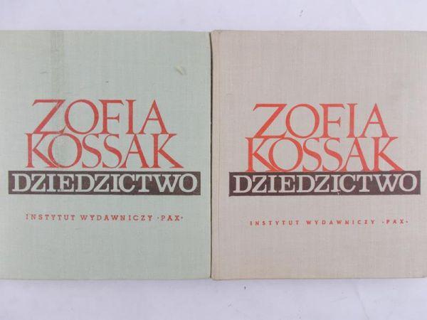 Kossak Zofia - Dziedzictwo, cz. I, dwa wydania