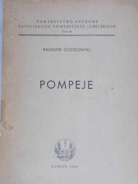 Gostkowski Rajmund - Pompeje