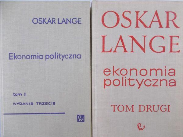 Lange Oskar - Ekonomia polityczna, Tom I - II