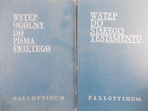 Łach Stanisław (red.) - Wstęp do Starego Testamentu/ Wstęp ogólny do Pisma Świętego