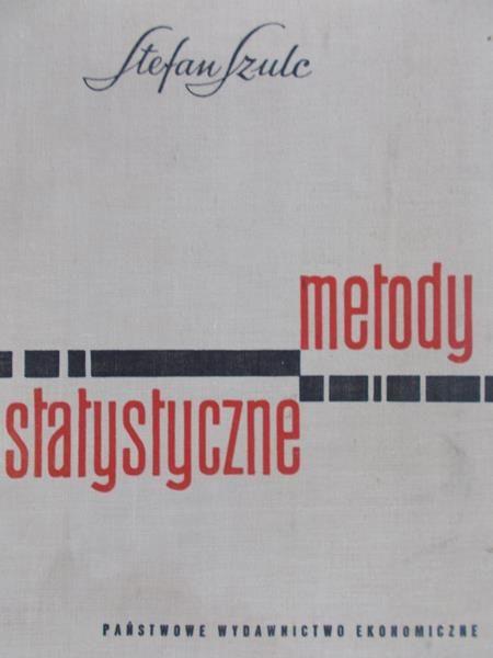 Szulc Stefan - Metody statystyczne