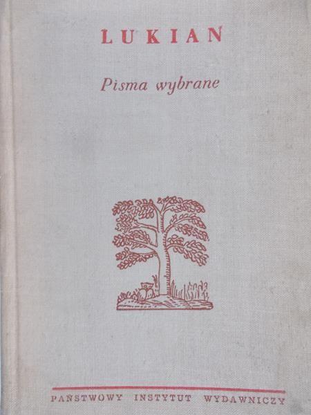 Lukian - Pisma wybrane