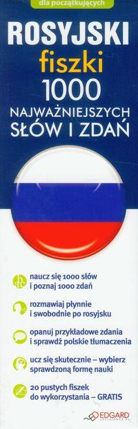 Rosyjski: Fiszki 1000 najważniejszych słów i zdań, Nowa