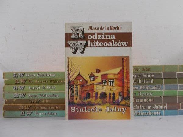 De la Roche Mazo  - Rodzina Whiteoaków, zestaw 16 książek