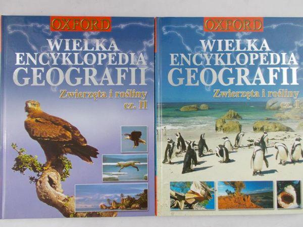 Wielka encyklopedia geografi - Zwierzęta i rośli 2 części