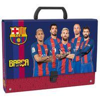 Teczka twarda z rączką FC Barcelona