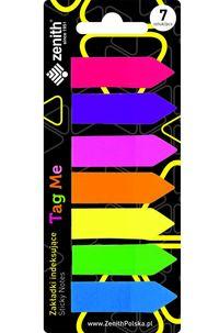 Zakładki indeksujące Tag Me 7 kolorów x 25 sztuk