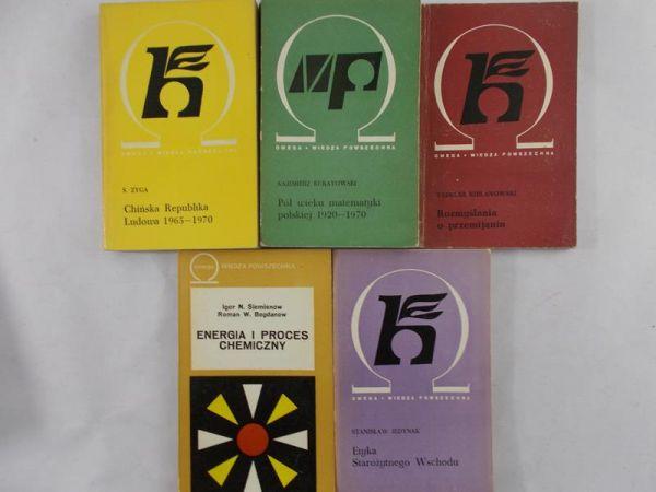 Omega; Zestaw 5 książek