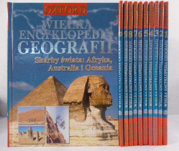 Wielka Encyklopedia Geografii, Tom I-XI