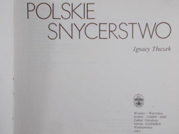 Tłoczek Ignacy - Polskie snycerstwo