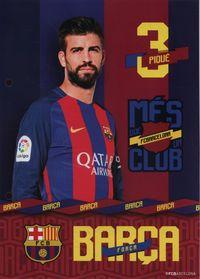 Wkład do segregatora A5 FC Barcelona 13 sztuk
