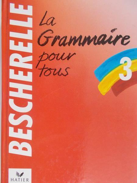 3. La grammaire pour tous