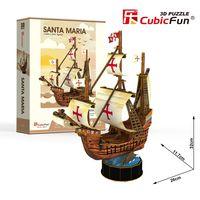 Puzzle 3D Żaglowiec Santa Maria 93 elementy