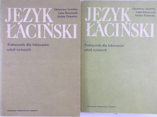 Jurewicz Oktawiusz - Język łaciński, Tom I-II