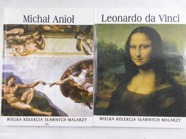 Wielka Kolekcja Sławnych Malarzy. Leonardo da Vinci/Michał Anioł