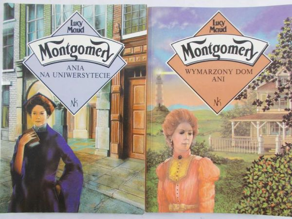 Montgomery Lucy Maud - Wymarzony dom Ani / Ania na uniwersytecie