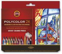 Kredki artystyczne Polycolor 24 kolory