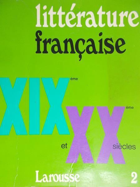 Adam Antoine - Literature francaise