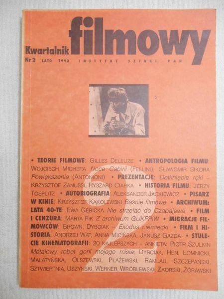 Gazda Janusz (red.) - Kwartalnik filmowy