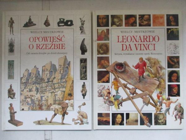 Romeo Francesca - Wielcy mistrzowie:Leonardo da Vinci / Opowieść o rzeźbie