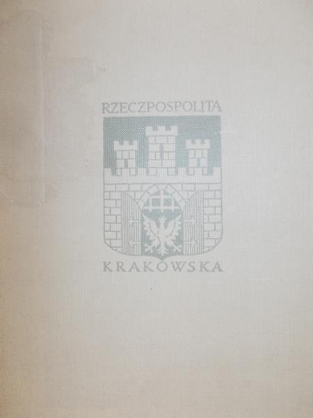 Wachholz Szczęsny - Rzeczpospolita Krakowska