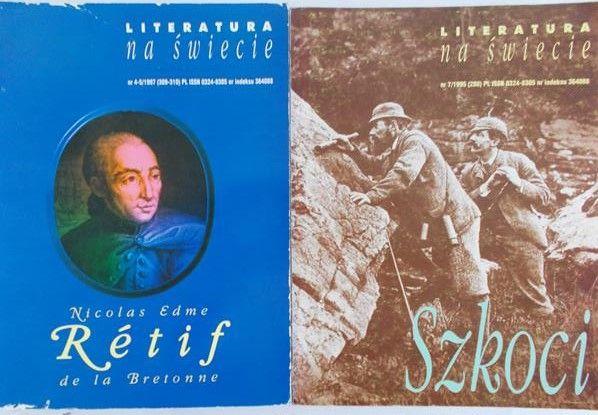 Buras Jacek - Literatura na świecie. Szkoci /Retif