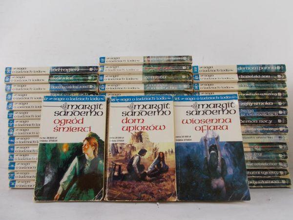 Sandemo Margit - Saga o Ludziach Lodu, komplet 46 tomów