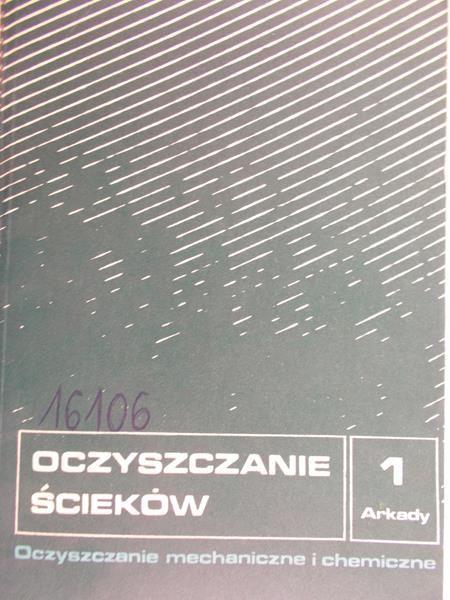 Kurbiel Jerzy - Oczyszczanie ścieków 1