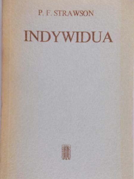Strawson P. F. - Indywidua